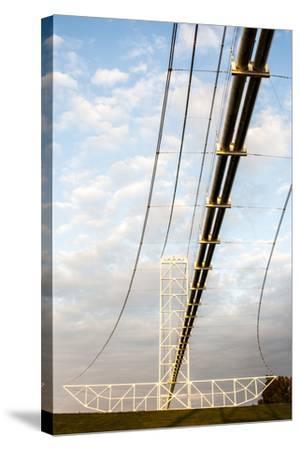 Natural Gas Pipeline, Melville, Atchafalaya Basin, Louisiana, USA-Alison Jones-Stretched Canvas Print