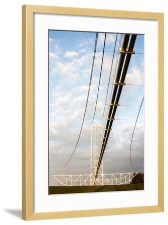Natural Gas Pipeline, Melville, Atchafalaya Basin, Louisiana, USA-Alison Jones-Framed Photographic Print
