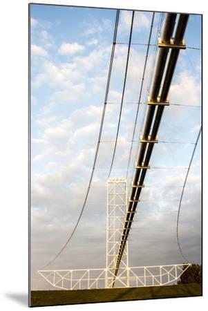 Natural Gas Pipeline, Melville, Atchafalaya Basin, Louisiana, USA-Alison Jones-Mounted Photographic Print
