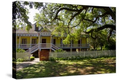Laura' Historic Antebellum Creole Plantation House, Louisiana, USA-Cindy Miller Hopkins-Stretched Canvas Print