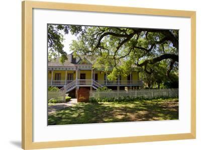Laura' Historic Antebellum Creole Plantation House, Louisiana, USA-Cindy Miller Hopkins-Framed Photographic Print
