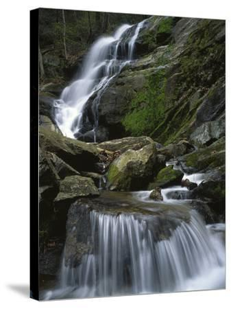 Crabtree Falls, Nelson Co, Virginia, USA-Charles Gurche-Stretched Canvas Print