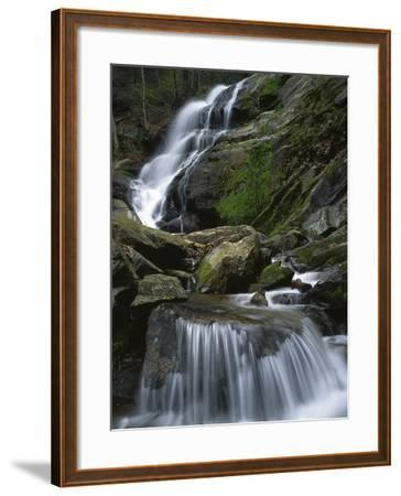 Crabtree Falls, Nelson Co, Virginia, USA-Charles Gurche-Framed Photographic Print