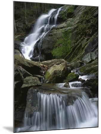 Crabtree Falls, Nelson Co, Virginia, USA-Charles Gurche-Mounted Photographic Print