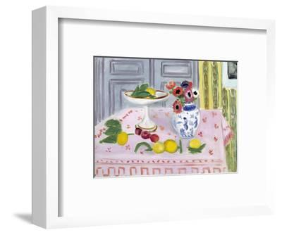 The Pink Tablecloth, 1925-Henri Matisse-Framed Giclee Print