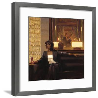 Amber Glow 2-Brent Lynch-Framed Art Print
