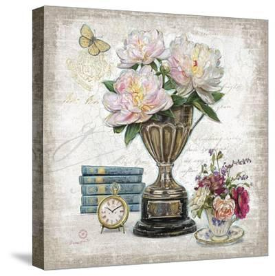 Vintage Estate Florals 2-Chad Barrett-Stretched Canvas Print