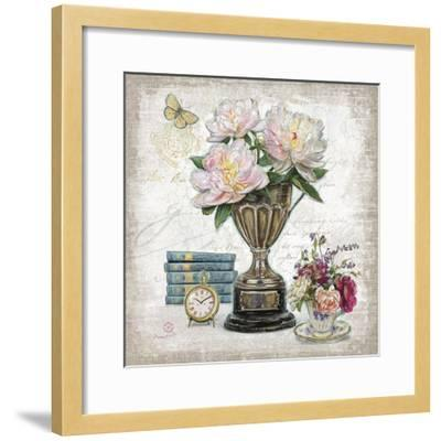 Vintage Estate Florals 2-Chad Barrett-Framed Art Print