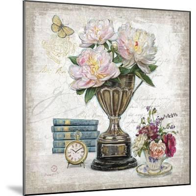 Vintage Estate Florals 2-Chad Barrett-Mounted Art Print