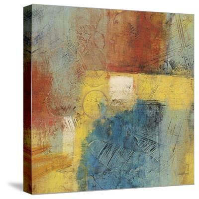 Linear Yellow 1-Gabriela Villarreal-Stretched Canvas Print