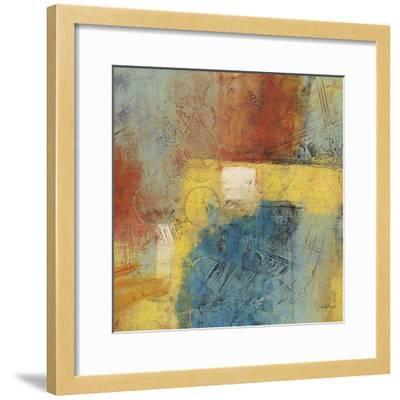 Linear Yellow 1-Gabriela Villarreal-Framed Art Print