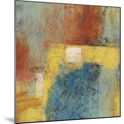 Linear Yellow 1-Gabriela Villarreal-Mounted Art Print