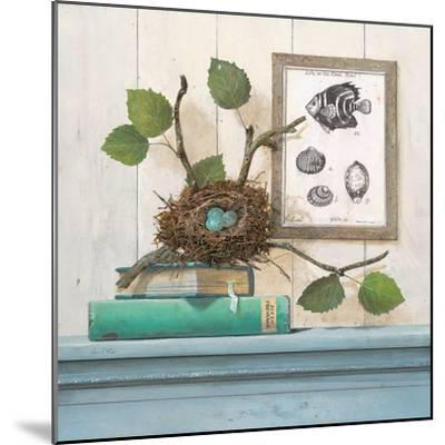 Seaside Branch-Arnie Fisk-Mounted Art Print