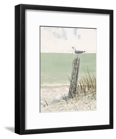 Seaside Perch-Arnie Fisk-Framed Art Print
