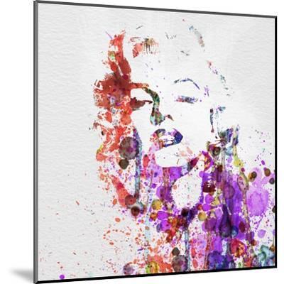 Marilyn Monroe-NaxArt-Mounted Art Print