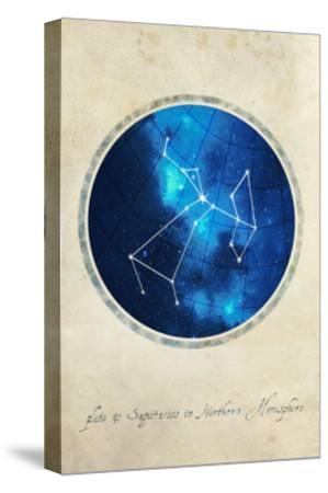 Sagittarius-GI ArtLab-Stretched Canvas Print