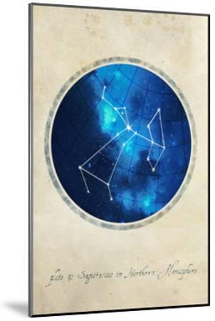 Sagittarius-GI ArtLab-Mounted Premium Giclee Print