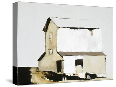 White Barn-Sandra Pratt-Stretched Canvas Print