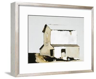 White Barn-Sandra Pratt-Framed Premium Giclee Print