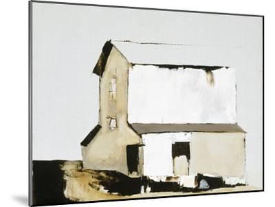 White Barn-Sandra Pratt-Mounted Premium Giclee Print