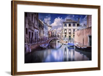 Venetian Canal, Venice, Italy--Framed Photographic Print