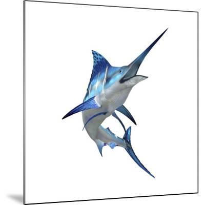 Blue Marli--Mounted Art Print