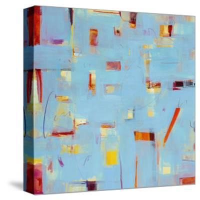 Frosted Window 2-Akiko Hiromoto-Stretched Canvas Print