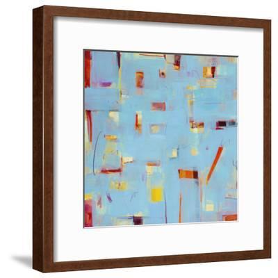 Frosted Window 2-Akiko Hiromoto-Framed Premium Giclee Print