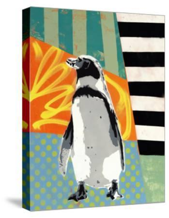 Humbold Penguin-Urban Soule-Stretched Canvas Print