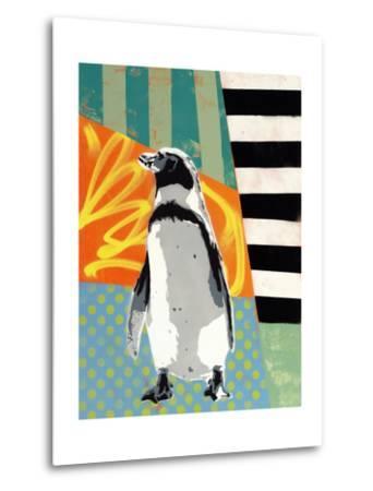 Humbold Penguin-Urban Soule-Metal Print