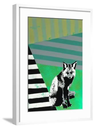 Black Fox-Urban Soule-Framed Premium Giclee Print
