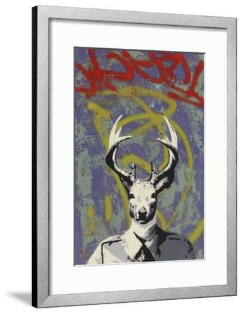 Mr. Buck-Urban Soule-Framed Premium Giclee Print