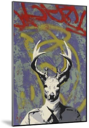 Mr. Buck-Urban Soule-Mounted Premium Giclee Print