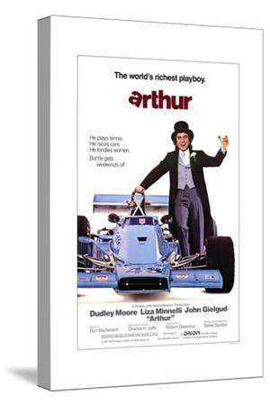 Arthur--Stretched Canvas Print