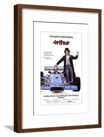 Arthur--Framed Art Print