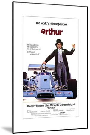 Arthur--Mounted Art Print