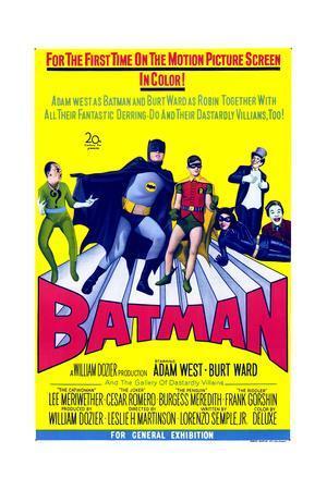Batman--Framed Premium Giclee Print