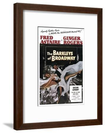 The Barkleys of Broadway--Framed Art Print