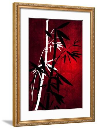 Bamboo Style-Philippe Sainte-Laudy-Framed Photographic Print