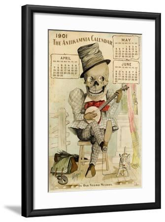 An Old Negro Melody-Louis Crucius-Framed Giclee Print