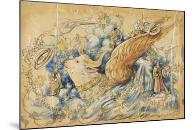 The Koran 1910 New Orleans Float Designs-Jennie Wilde-Mounted Giclee Print