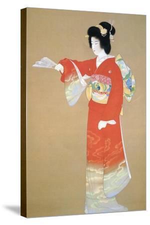 Jo No Mai-Shoen Uemura-Stretched Canvas Print