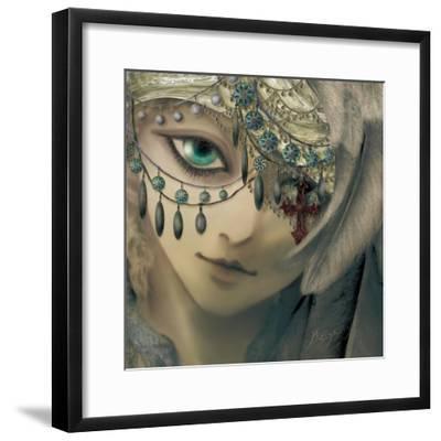 Jude-Meiya Y-Framed Giclee Print