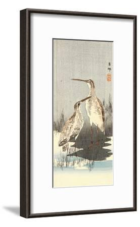 Two Snipes-Koson Ohara-Framed Giclee Print