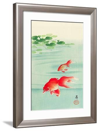 Two Goldfish-Koson Ohara-Framed Giclee Print