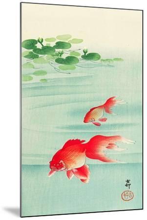 Two Goldfish-Koson Ohara-Mounted Giclee Print