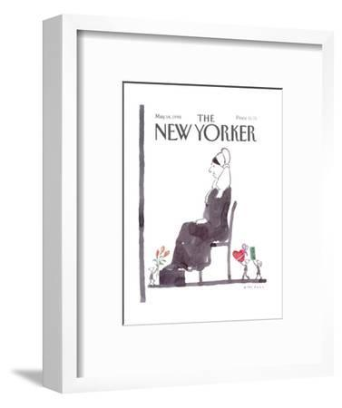 The New Yorker Cover - May 14, 1990-R.O. Blechman-Framed Premium Giclee Print