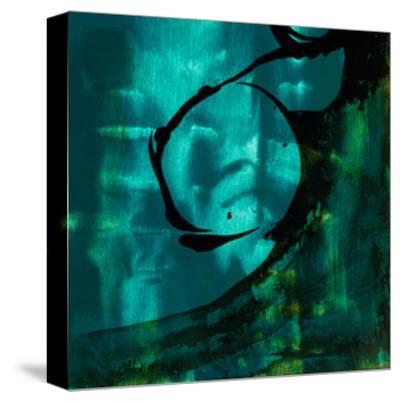Turquoise Element III-Sisa Jasper-Stretched Canvas Print