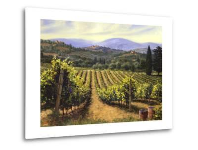 Tuscany Vines-Michael Swanson-Metal Print