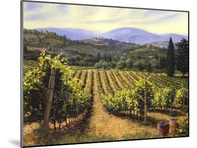 Tuscany Vines-Michael Swanson-Mounted Art Print
